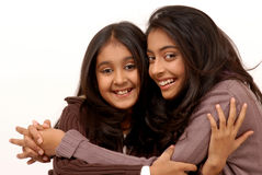 Twee Indische vrienden Stock Afbeelding