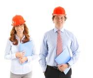 Twee ingenieurs Royalty-vrije Stock Foto