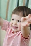 Twee-jaar-oud meisje Royalty-vrije Stock Afbeelding