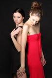 Twee jonge lesbische meisjesvriend Royalty-vrije Stock Afbeeldingen