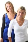 Twee jonge meisjesvrienden Royalty-vrije Stock Afbeeldingen