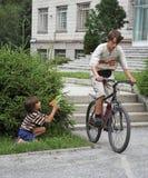 Twee jongens Stock Foto's