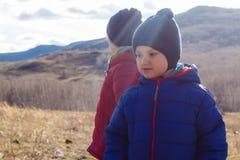 Twee jongens in de Zon royalty-vrije stock foto's