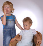 Twee kinderen Stock Fotografie