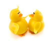Twee kippen stock fotografie