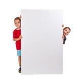 Twee kleine jongens Royalty-vrije Stock Afbeelding