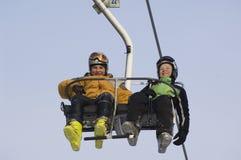 Twee kleine sportmannen Stock Fotografie