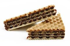 Twee koekjes Stock Foto