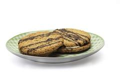 Twee koekjes Royalty-vrije Stock Afbeelding