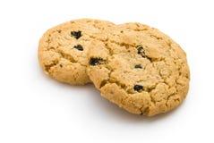 Twee koekjes stock afbeeldingen