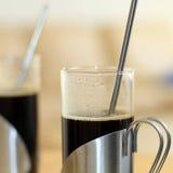 Twee koppen van coffe Stock Afbeelding