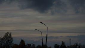 Twee lanters Stock Afbeeldingen