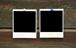 Twee leeg fotoframe Royalty-vrije Stock Afbeeldingen