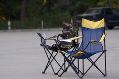 Twee lege stoelen Stock Afbeelding