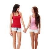 Twee lesbische vrouwen Royalty-vrije Stock Foto's