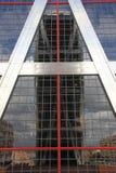 Puerta DE Europa in Madrid Royalty-vrije Stock Afbeeldingen