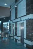 Twee liften Stock Foto