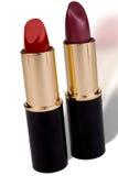 Twee Lippenstiften royalty-vrije stock foto