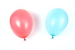 Twee luchtballons. Stock Foto