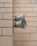 Twee luidsprekers Royalty-vrije Stock Afbeeldingen