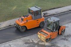 Twee machines van de rolpers royalty-vrije stock afbeelding