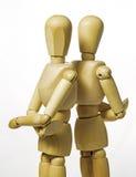 Twee mannequins Stock Foto