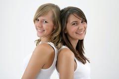Twee meisjes Royalty-vrije Stock Foto