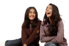 Twee meisjesvrienden Royalty-vrije Stock Afbeelding