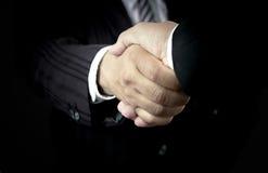 Twee menselijk handenteken Stock Afbeeldingen