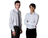 Twee mensen Royalty-vrije Stock Afbeelding