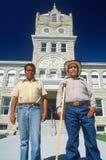 Twee Mexicaanse mensen Royalty-vrije Stock Afbeeldingen