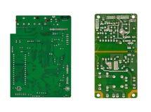 Twee microschakelingen Royalty-vrije Stock Afbeeldingen