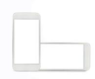 Twee Mobiles royalty-vrije stock fotografie