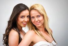 Twee Modellen Stock Foto
