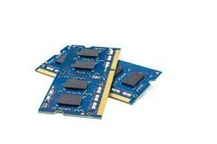 Twee modules van de RAM Stock Fotografie