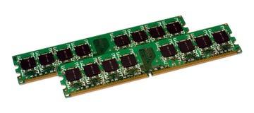 Twee modules van het geheugen Stock Fotografie