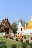 Twee monniken royalty-vrije stock afbeeldingen