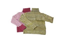 Twee mooie sweaters. Stock Afbeelding