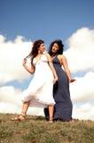 Twee mooie vrouwen Stock Fotografie