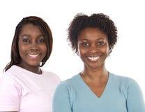 Twee mooie zusters Royalty-vrije Stock Foto's