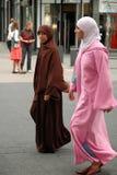 Twee Moslimmeisjes royalty-vrije stock foto's