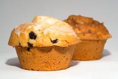 Twee muffins Royalty-vrije Stock Afbeelding