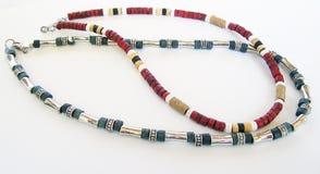 Twee Nauwsluitende halskettingen of Halsbanden Royalty-vrije Stock Fotografie