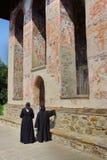 Twee nonnen Royalty-vrije Stock Foto's