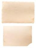 Twee oud beeldenachtereind Stock Foto