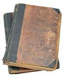 Twee oude boeken Stock Foto