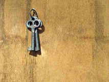 Twee oude sleutels. Royalty-vrije Stock Foto