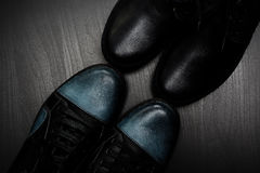 Twee paren schoenen Royalty-vrije Stock Afbeeldingen