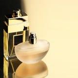 Twee parfums stock foto