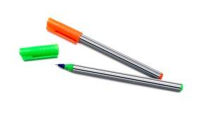Twee pennen royalty-vrije stock foto